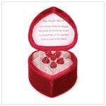#36242 Glass Rose Bouquet Box