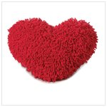 #36603 Shaggy Heart Cushion