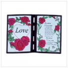 #25500 Poetic Love Plaque