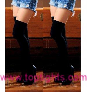 Black Nude Two Tone Stockings Tights Women's Underwear Lingerie