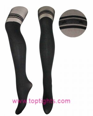 Mock Star Garter Over The Knee Stockings Tights Fashion Lingerie Hosiery Pantyhose