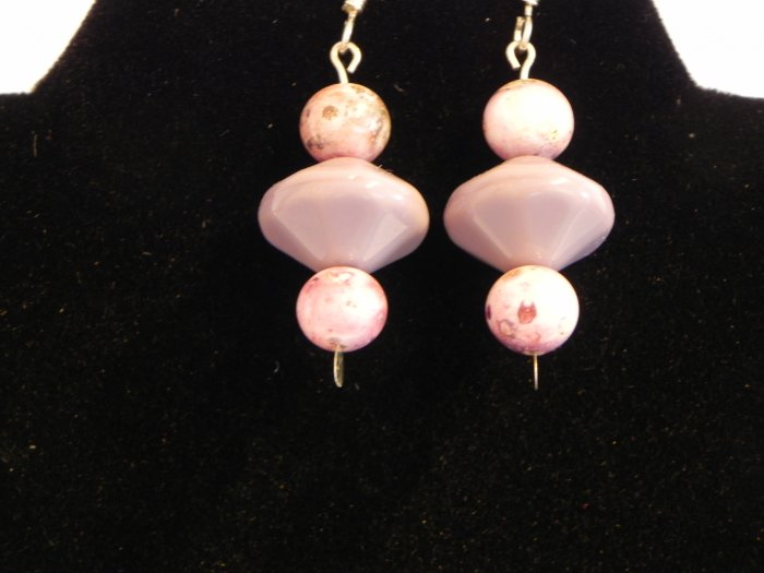 Delicate Pink Vintage Beads