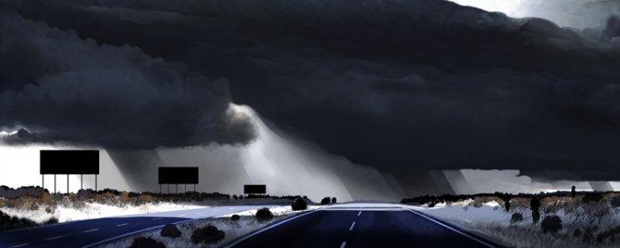 """""""I-10 Rainstorm"""""""