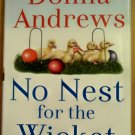 No Nest for the Wicket, Donna Andrews