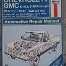 Haynes Chevrolet & GMC Pick-ups 1982-1993