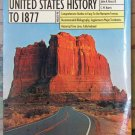 Harpercollins College Outline United States History to 1877