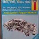 Haynes Subaru 1971 -August 1979 Automotive Repair Manual