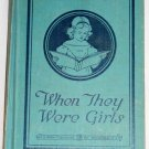 When They Were Girls,  Rebecca Deming Moore