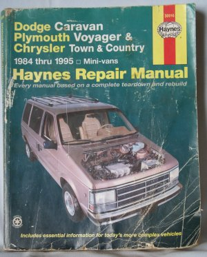 haynes dodge caravan plymouth voyager chrysler town country 1984 rh sexyredusedbooks ecrater com 2003 Dodge Caravan Repair Manual 2003 Dodge Caravan Repair Manual
