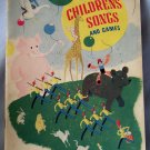 Treasure Chest of Children's Songs and Games, 1935