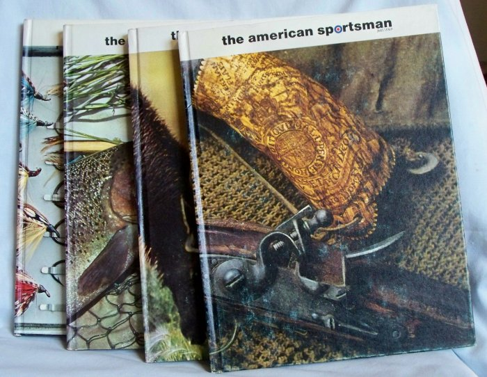 The American Sportsman Volume 2 Books 1-4 of 1969, The Ridge Press, Inc., Copyright 1969