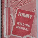Forney Welding Manual, Copyright 1972