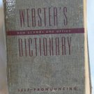 Webster's New School and Office Dictionary, Copyright 1955