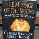 The Message of the Sphinx, Graham Hancock & Robert Baubal