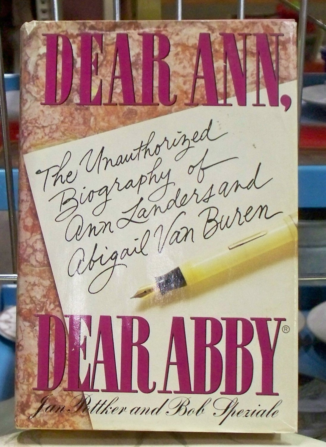 Dear Ann, Dear Abby, Jan Pottker and Bob Speziale