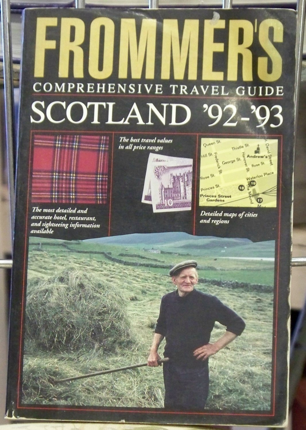Frommer 39 s comprehensive travel guide scotland 1992 1993 for Travel guide to scotland