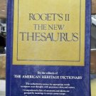 Roget's II The New Thesaurus, The American Heritage Dictionary