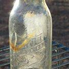 Mojonnier half pint milk or creamer bottle patented april 5? 1921? or 1927?