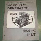 Details about  Homelite Generators, Parts List, Part No. 24960-A 185HY35-1 & 190HY50-1