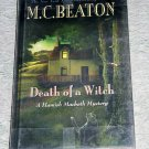 Death of a Witch by M.C. Beaton, Large Print Edition