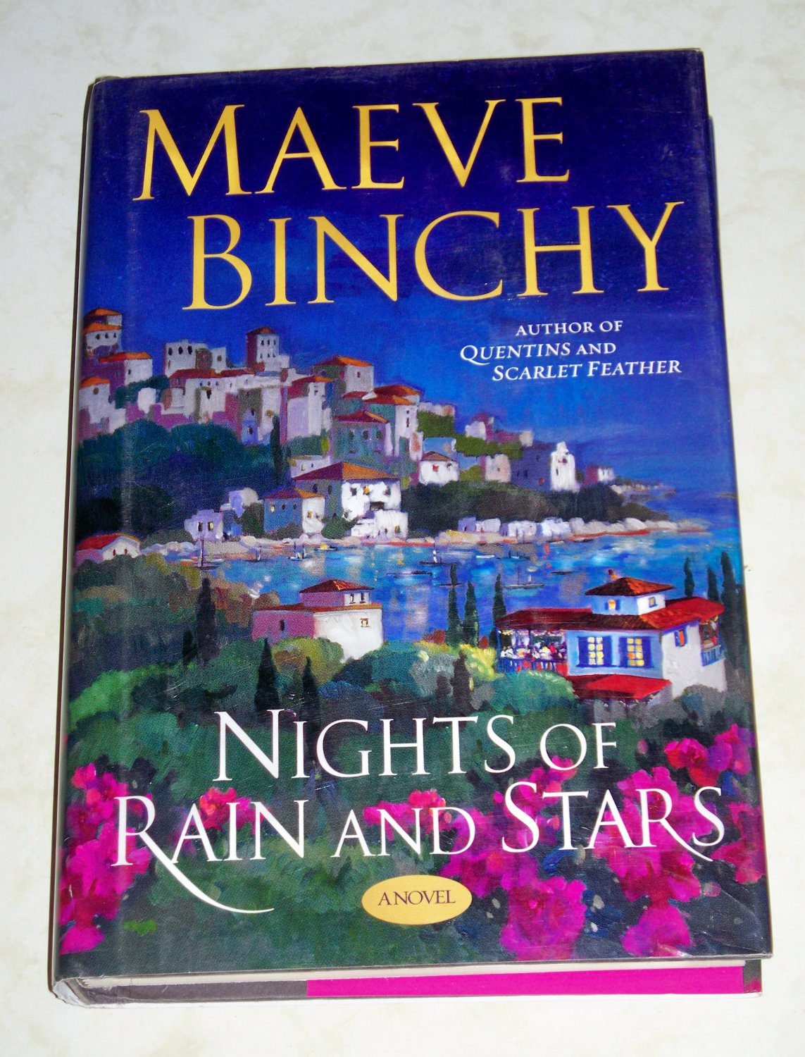 Nights of Rain and Stars by Maeve Binchy, First Printing