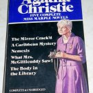 Agatha Christie Five Complete Miss Marple Novels by Agatha Christie
