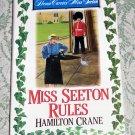 Miss Seeton Rules by Hamilton Crane, First Edition