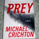 Prey by Michael Crichton, First Edition