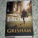 (E2) The Broker by John Grisham, First Edition (E2) our second book