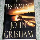 The Testament by John Grisham, First Edition (E1)