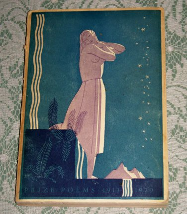 Prize Poems 1913 - 1929 paperback 1930 Charles Boni Paper Books New york