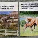 Farnam Horse Library set of 2 books Recognize Horse Health & Better Rider used