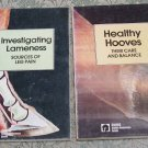Equus Stable Reference Guide 2 books, Healthy Hooves, Investigating Lameness