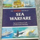 Sea Warfare, The Guinness History of Sea Warfare maps diagrams old boats Illustr