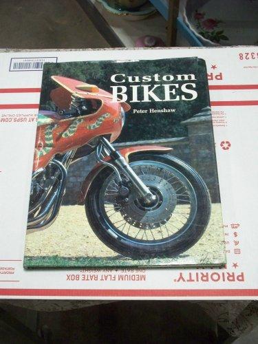 Peter Henshaw Custom Bikes hc/dj copyright 1994 Choppers Cafe Racers used book
