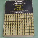 Chess Openings: Theory and Practice by I.A. Horowitz paperback used