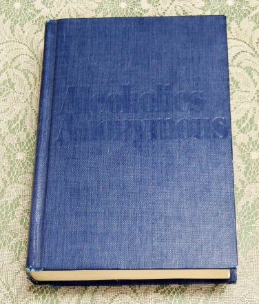 Alcoholics Anonymous AA book 3rd edition 31st print preowned handwritten notes