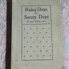 Rainy Days and Sunny Days Kate Whiting Patch 1906 Milton Bradley Company illustrated