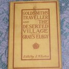 Heath's English Classics Goldsmith's The Traveller and The Deserted Village 1909