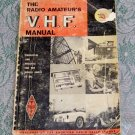The Radio Amateur's V. H. F. Manual 1965 First Edition published by ARRL