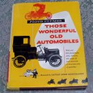 Floyd Clymer Those Wonderful Old Automobiles Captain Eddie Rickenbacker
