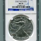 2012 American Silver Eagle NGC MS70 Early Release Wholesale Priced