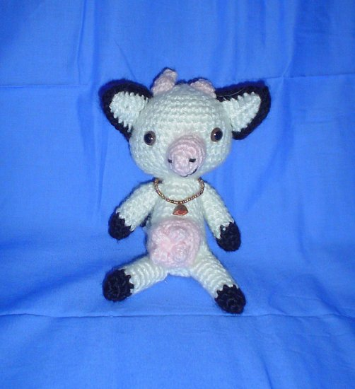 Cow Amigurumi Japanese Anime Doll