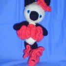 Ballerina Siamese Kitty Cat Amigurumi Japanese Anime Doll