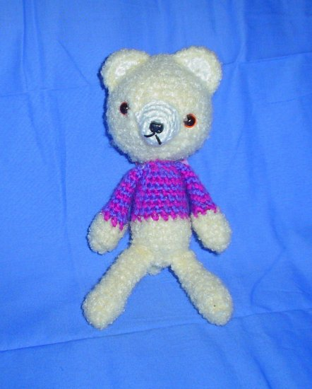 Japanese Anime Amigurumi Fuzzy Bear Doll