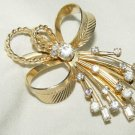 Vintage SARAH COVENTRY RHINESTONE 'VOGUE'  Brooch /Pin