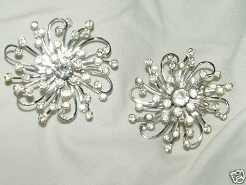 Vintage SARAH COVENTRY SIGNED 'STARDUST'  EARRINGS