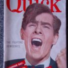 QUICK NEWS WEEKLY- JULY 21, 1952- JOHNNIE RAY Cover