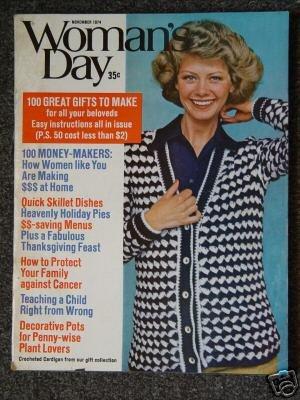 Vintage WOMAN'S DAY Magazine - November 1974