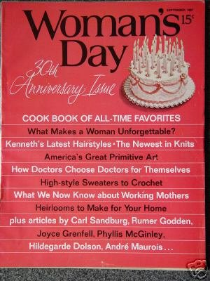 Vintage WOMAN'S DAY Magazine -  30th Anniversary Issue